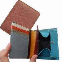 China Leather Wallet with Coin Pocket on sale