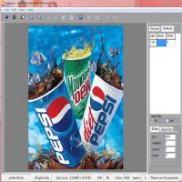 China PLASTIC LENTICULAR flip lenticular photo printing software to make 3d motion flip zoom animation morphing effect for sale