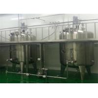 Wholesale Food Grade Stainless Steel Fermentation Tanks , SS Mixing Tank For Beverage from china suppliers