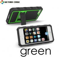 Wholesale Custom Mobile Phone Hybrid Stand Case Skin, TPU Cell Phone Case for Iphone 5 from china suppliers