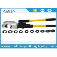 Hand Operated Hydraulic Crimping Tools for Crimping Copper / Aluminum Cable Lug for sale