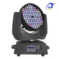 Quality 108PCS 12CH RGBW LED Moving Head Wash Light / Strobe Zoom Stage LED Lights for sale