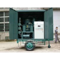 Series ZYD-M Mobile Vacuum Transformer Oil Filter Plant | Insulation Oil for sale