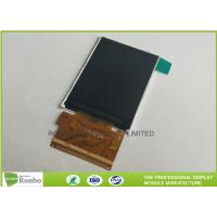 China 300cd/m² Brightness IPS LCD Screen 2.4 Inch 240x320 MCU 8 / 16 Bit High Accuracy for sale