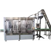 Wholesale 3 In 1 Glass Bottle / Bottled Hot Drink Beverage Tea Juice Bottling Machine / Equipment / Plant / Unit / System / Line from china suppliers