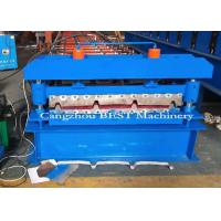 China Electric 3KW Power Roofing Sheet Roof Roll Forming Machine / Production Line for sale