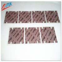 Wholesale Garnet silicone Thermal gap filler Heatsink Thermal Pad  6.0 W/MK from china suppliers