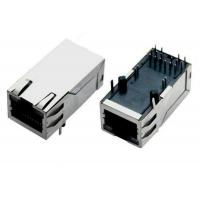 Best 8 Pin / 10 Pin RJ45 Magnetic Jack Network Connector With EMI Fingers wholesale