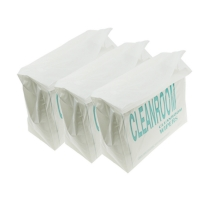 """Wholesale 9x9"""" Polyester Cleanroom Microfiber Wiper 140gsm Non Woven from china suppliers"""