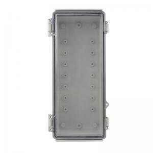 Wholesale Latch Hinged Electrical Enclosure IP65 With Key Lock 260x110x75mm from china suppliers
