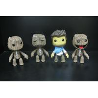 Woven Bag Effect Custom Action Figures With Little Big Planet Logo