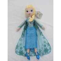Wholesale Blue Frozen Elsa Plush Doll Disney Princess Toys in 40cm 50cm Size from china suppliers