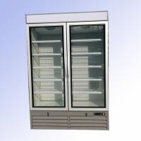800L Display Volume Commercial Upright Display Freezer Digital Thermostat Air Cooling for sale