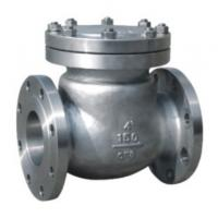 Quiet Standard WOG Flanged Check Valve SS Swing Type ANSI 150LB
