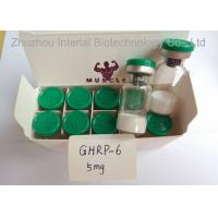 Wholesale Research Chemical 99.9% Human Growth Peptide Powder 10mg/vial Ghrp-6 For Weight Loss from china suppliers