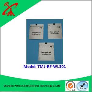 8.2 MHZ Woven Fabric RF Security Tags Custom Design RF label
