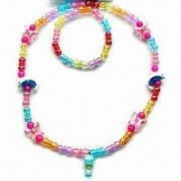 Wholesale Children's Jewelry Set, Various Attractive Models are Available, Customized Designs are Welcome from china suppliers
