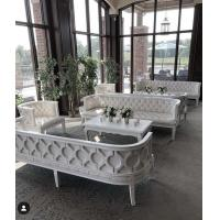 Wholesale Unique Luxury Furniture Birch Wood Lounge Sofa Single 2-3 seater sofa for Cafe living room from china suppliers