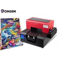 China Inkjet A4 Flatbed Industrial UV LED Printer For Pencil Pen Printing Machine on sale