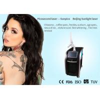 China Salon / Clinic Picosecond Laser Tattoo Removal Machine For Acne Scar Treatment for sale