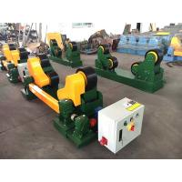 Wholesale Self Adjustment Welding Pipe Rollers 10t Capacity Tank Pipe Turning Rollers from china suppliers