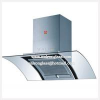 Wholesale 4mm Bent Tempered Appliance Glass Panel/ Range Hood Glass Panel from china suppliers