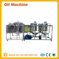 Wholesale Edible sunflower seeds oil refining machinery with CE and ISO for sale from china suppliers