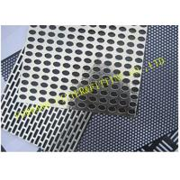 Wholesale Fancy Perforated Metal Pipe Plate Hole Pattern Options ASTM SERIES from china suppliers