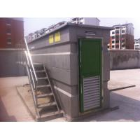 Wholesale Good stability Containerized MBR sewage treatment system , membrane water treatment from china suppliers