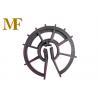 Formwork Accessories Plastic Rebar Spacer , Plastic Concrete Rebar Wheel Spacer for sale