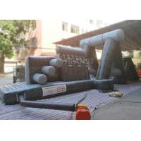Wholesale Giant Inflatable Obstacle Course 0.55 Mm PVC Tarpaulin For Entertainment from china suppliers