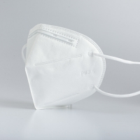 Wholesale 4 Ply Flat Non Irritating Gauze Cotton KN95 Folding Dust Masks from china suppliers