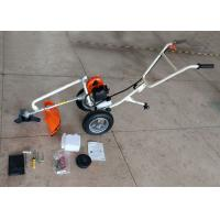 Buy cheap 2 Stroke Gasoline Petrol Brush Cutter With 3T Metal Blade Strong Power from wholesalers