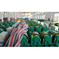 Best Two Motor Double Drive Conventional Welding Rotator Loading 150T Capacity Rubber Wheels wholesale
