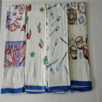 Wholesale Textiles Stocklot CUT PILE SATIN TEA TOWEL from china suppliers