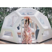 Wholesale Waterproof 0.8mm Inflatable Bubble Tent For Camping Hotel from china suppliers