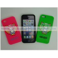 China IPhone 5 / 5S Silicone Cell Phone Case 3D washable , eco-friendly on sale