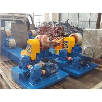 10T Capacity Heavy Duty Pipe Rollers / Pipe Welding Rollers With PU Wheels