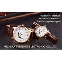 Wholesale WHOLESALE ALLOY CASE PU OR ALLOY STRAP QUARTZ  WATCHES DESIGNS UNIQUELY COUPLE WATCH from china suppliers