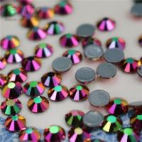 Wholesale Factory Wholesale Iridescent Rhinestones World Stones MC Rainbow Hand Beads Clothing Ornament Boots Trim Decoration from china suppliers