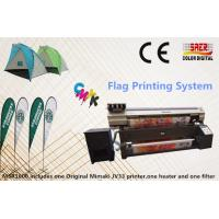 China 160CM Max Materials Width Mimaki Fabric Printer For Polyester / Cotton on sale