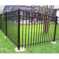 China Flat Top Garrison Fence for sale