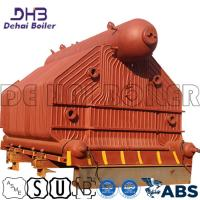 China Gas Fired Package Boiler Systems , Boiler Steam Drum Dyeing Thermal Wear Textile for sale
