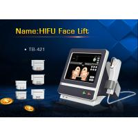 Best Color Touch Screen 5 Heads HIFU Face Lifting Machine for Wrinkle Removal wholesale