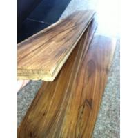 Quality small leaf hand scraped solid Acacia wood flooring for sale