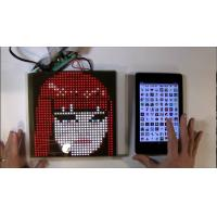 Wholesale SparkFun or Adafruit 32x32 RGB LED Panel Driver Tutorial 16 data signals connect + 5VDC refreshed to display an image from china suppliers