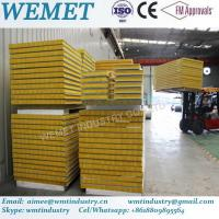 Wholesale 500-1000mm glass wool fire proof insulated wall and roof panel for steel warehouse from china suppliers