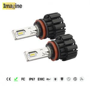 H8 led headlight bulb, automotive led, 6063 Material Led Car Headlights Conversion Kit , 50W H8 Car Bulb High Low Beam