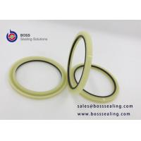 Wholesale Good quality hydraulic rod buffer seal HBY seal profile PU PA material milk off yellow blue purple color from china suppliers