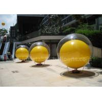 Best Double Layer Inflatable Advertising Balloons 2m PVC Inflatable Ball In Ball wholesale